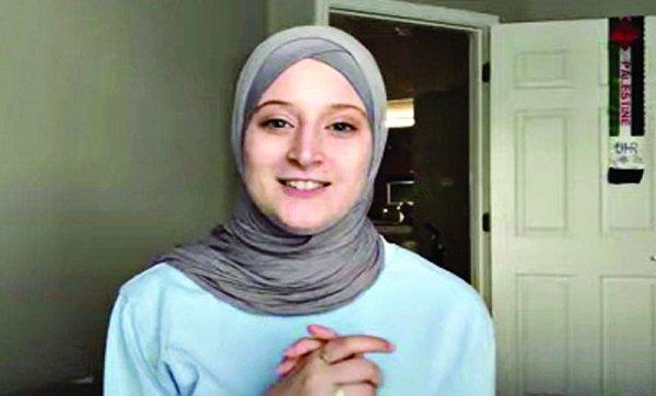 যুক্তরাষ্ট্রে হিজাব দিবসে ইসলাম ধর্ম গ্রহণ করলেন এক নারী!