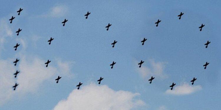 আজ আকাশে ১০০ সংখ্যাটি তুলে ধরবে বাংলাদেশ বিমান বাহিনী